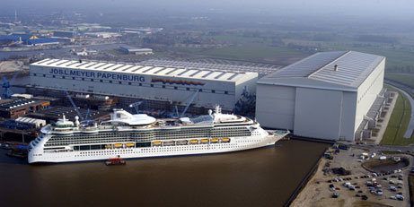 Meyer Werft in Papenburg (MWP)